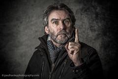 Selfie-09864 (Paul Hanley LRPS) Tags: male portrait selfportrait selfie speedlight strobe studio