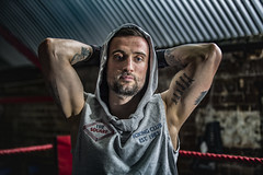 The Boxer © stephen cotterell photography (StephenCotterellPhotography) Tags: select the boxer people art photography london gym fitness masculinity lighting personal powerful intelligent smart interesting httpstephencotterellcom