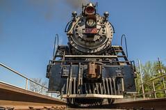 (i nikon) Tags: southern railway sou 4501 summerville ga steam turntable