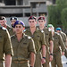 Combat Officer Cadets at Ceremony Rehearsal