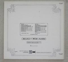 Pink Floyd - Relics - Sleeve Back (Amateur Radio Station G4FUI) Tags: pinkfloyd lp vinyl album musicforpleasure 1960s record