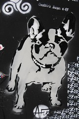 Nice Art_4750 boulevard du Général Jean Simon Paris 13 (meuh1246) Tags: streetart paris boulevarddugénéraljeansimon lelavomatik paris13 niceart animaux chien