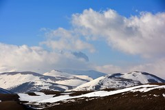 Il Corno Grande tra le nuvole (giorgiorodano46) Tags: marzo2017 march 2017 giorgiorodano nikon abruzzo italy appennino apennines cornogrande gransasso nuvole clouds calascio roccacalascio parconazionaledelgransasso naturalpark snow