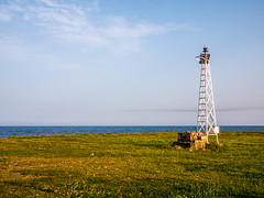 Seascape (tomymagl1) Tags: landscape sky clouds spring seascape outdoor panasonic mft m43 colorful lighthouse