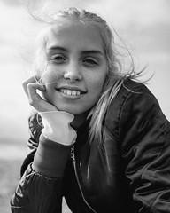 On the beach (johan_bjorklund) Tags: canon canon5dmarkii canon5dmark2 2470mm blackwhite bw natural light portrait