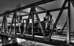 perspective BW (YᗩSᗰIᘉᗴ HᗴᘉS +5 400 000 thx❀) Tags: perspective nb bw locomotive old train oldtrain noiretblanc blackandwhite monochrome hensyasmine