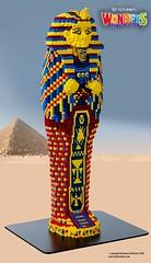 Egyptian Mummy (TheBrickMan) Tags: lego mummy sarcophagus ancient history egypt wonders world