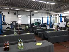 """#HummerCatering #Event #Catering #Service hier beim #Unternehmerfrühstück in #Pulheim. Wo wir eigens für das #Event ein ganzes #Cafe mit #Backstation, #Kaffee #Catering mit unserer #Siebträger #Kaffeemaschine und 2 Nespresso #Pro #Vollautomaten, #Softgetr • <a style=""""font-size:0.8em;"""" href=""""http://www.flickr.com/photos/69233503@N08/33425411754/"""" target=""""_blank"""">View on Flickr</a>"""