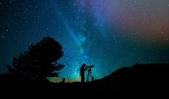 Exploring new stars ! [in explore 23.03.17] (Pascal Dentan) Tags: nature night voie lactée galaxy milkyway exploring explore stars ha haveaniceday