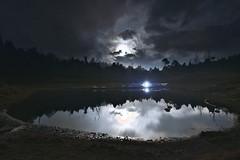 加羅湖 (Xander C.) Tags: d600 1735mmf28d night moon lake camping hiking
