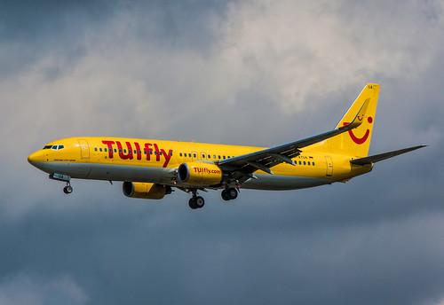 TUIfly Boeing 737-800, D-ATUA