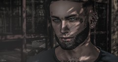 """""""Sometimes you can't explain what you see in a person. It's just the way they take you to a place where no one else can."""" (scarlettrose.karsin) Tags: secondlife catwa straydog signature sexy man men sl"""