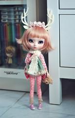 Simply cute ❤ (·Yuffie Kisaragi·) Tags: doll pullip blanche custom poison girl vainilla obitsu rewigged rechipped