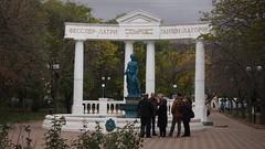 Feodosia. November 2016 (nikolasrybin) Tags: russia traveling olympus pen epl3 november 2016 fall urban street sculpture crimea