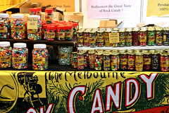 2017 Sydney Royal Easter Show: Rock Candy (dominotic) Tags: 2017 sydneyroyaleastershow theshow ras sydney food homebush nsw australia newsouthwales rural citymeetscountry produce artsandcrafts agriculturalshow agriculture eastershow producedisplay prizes rockcandy sweets lolly boiledlolly