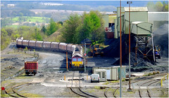 Loading Welsh Anthracite (Welsh Gold) Tags: 66161 6e09 loading welsh coal onllwyn washery dulais valley southwales