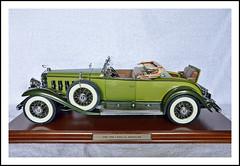 1/12 Scale Danbury Mint 1930 Cadillac V-16 Roadster (sjb4photos) Tags: danburymint 1930cadillacmodel modelcar