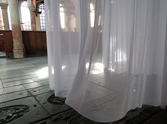 Unveiled (YIP2) Tags: labyrint artwork marinusboezem oudekerk oldchurch amsterdam museum exhibition curtain installation