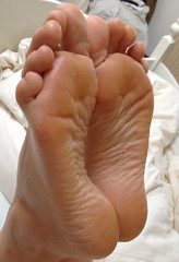 IMG_0406ed2 (thermosome) Tags: foot feet mature soles wrinkled milf
