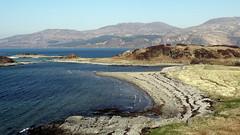 The first glimpse of the beach at Camusfearna, Sandaig Islands on the Sound of Sleat, Lochalsh (HighlandArt13) Tags: soundofsleat lochalsh skye camusfearna gavinmaxwell ringofbrightwater sandaigislands glenelg beach