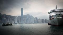 Hong Kong's Bay, SAR of China (monsieur I) Tags: asia asian boats buildings china hongkong hongkongbay hongkongisland hongkongtransport monsieuri skyscrapers transportation travel traveler water