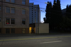 Council House and the Madkin (Blinking Charlie) Tags: councilhouse themadkinapartments secondhill centraldistrict twilight dusk gloaming emadisonstreet canonpowershotg9x seattle washingtonstate usa 2017 blinkingcharlie
