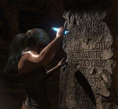 Unraveling the mysteries.. (Gothicpolar) Tags: sun rise tomb raider pc screenshot pretty syria yellow desert game