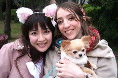 How About A Friendship Month? (emotiroi auranaut) Tags: women woman lady ladies pretty attractive beauty beauties beautiful cute adorable dog japan japanese france french smiles smiling friends friendship companion companions companionship komomo airly momoco