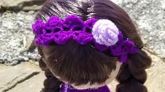 Martina (Martina&Chloè_Blythe) Tags: diadema blythe muñecas crochet manualidades ganchillo
