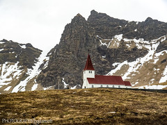 VIKURKJA CHURCH OF VIK (PHOTOGRAPHY|bydamanti) Tags: vík southernregion iceland is vikurkjachurchofvik church building fb