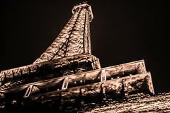 Eiffel Tower full length, Paris, 2017 (Tatsiana Volskaya) Tags: architecture below blackcolor capitalcities champdemars city citylife citystreet closeup colorimage composition constructionframe constructionmaterial copyspace eiffeltower environment europe europeanculture facade famousplace france frenchculture fulllength glitter goldcolored history horizontal iledefrance illuminated internationallandmark ironmetal july lighteffect lightning metallic night nopeople old oldtown outdoors parisfrance photography quartierdutrocadero symbol tower travel traveldestinations