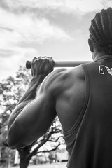 IMG_6007 (Zefrog) Tags: zefrog london uk muscle man portraiture bw fit fitness blackman iyo personaltrainer bodybuilder