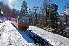 Switzerland: Gornergrat Railway (paul_braybrook) Tags: switzerland swissrailways swisstrains gornergrat mountains snow landscape europeanrail railway trains