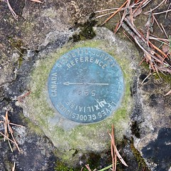 Survey marker (Will S.) Tags: mypics harmony ontario canada geodetic survey marker land metal plate canadiangovernment