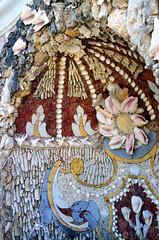 Rozendaal, tuin met schelpenfontein van kasteel Rosendael, Gelderland Nederland 2017 (wally nelemans) Tags: rozendaal schelpenfontein shells kasteel castle rosendael gelderland nederland holland thenetherlands 2017