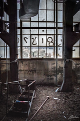 (C.dallaire Photography) Tags: abandoned old ruins montreal urbex mtl quebec canada broken creep creepy window dirt fear