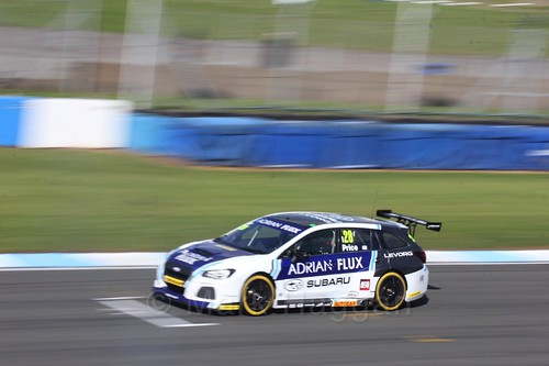 Josh Price during qualifying during the BTCC Weekend at Donington Park 2017: Saturday, 15th April