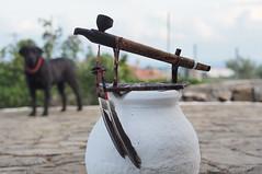 Η πίπα της Ειρήνης (Custom made Peace Pipe) (tomymagl1) Tags: olympus omd em10 45mm f18 custom made peace pipe outdoor