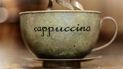 Coffee Break (Bflockton) Tags: coffee cappuccino bokeh 50mm 365project canon