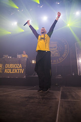 Amsterdam, The Netherlands  -16 April 2017: concert of Bosnian rock music band Dubioza Kolektiv at venue Melkweg -48 (CloudMineAmsterdam) Tags: dubiozakolektivmelkwegamsterdam amsterdam artists band concert concertlights crowd editorial electricguitar entertainment europe event gathering rock dub leisure lights loud music musician netherlands holland party people performance show singer vocals cheering audience happysmile fun hiphopreggae stage