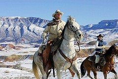 817-211682 (cheroyori) Tags: action animal animals chaps cold color colour contemporary cowboy cowboys cowgirl fast fur galloping handsome hat herd horse horses jacket landscape motion mountains painted powerful riding rope rugged running snow trotting trottting western white winter working