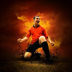 500px Photo ID: 173387943 (Guilhermebiasi) Tags: referee football ball circle card fire water hot ice strong angry strict grass exercise muscle training