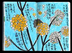 2017.04.12-03 (タケウマ) Tags: sketch sketchbook studiotakeuma illustration illustrator drawing doodle spring flower botanical