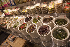 olives and friends (n.a.) Tags: newyorkcity nyc newyork city manhattan grand central food hall market olives pasta pickles snacks