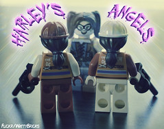Harleys Angels (WattyBricks) Tags: lego dc comics superheroes harley harleen quinn quinzel joker gotham batman rogues gallery suicide squad task force x henchmen hench