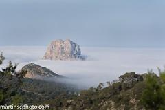 Mar de Nubes en Es Vedra, Ibiza. (martinscphoto) Tags: 2017 baleares bike btt eivissa espana ibiza moutain mtb santantonydeportmany santaeulaliadesriu vuellta es vedra sant josep de la sa talaia mar nubes