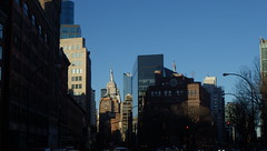 Another NYC Skyline (catchesthelight) Tags: nyc queens manhattan views buildings overeastriver skyline bluesky