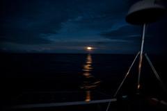 Moonrise at the equator