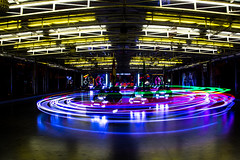 Autoscontri's lights (visova95) Tags: lunapark varese italy lights night