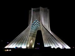 Azadi Tower - برج آزادی (\Nicolas/) Tags: azadi tower freedom shahyad king memorial square iran teheran tehran symbol mohammad reza pahlavi